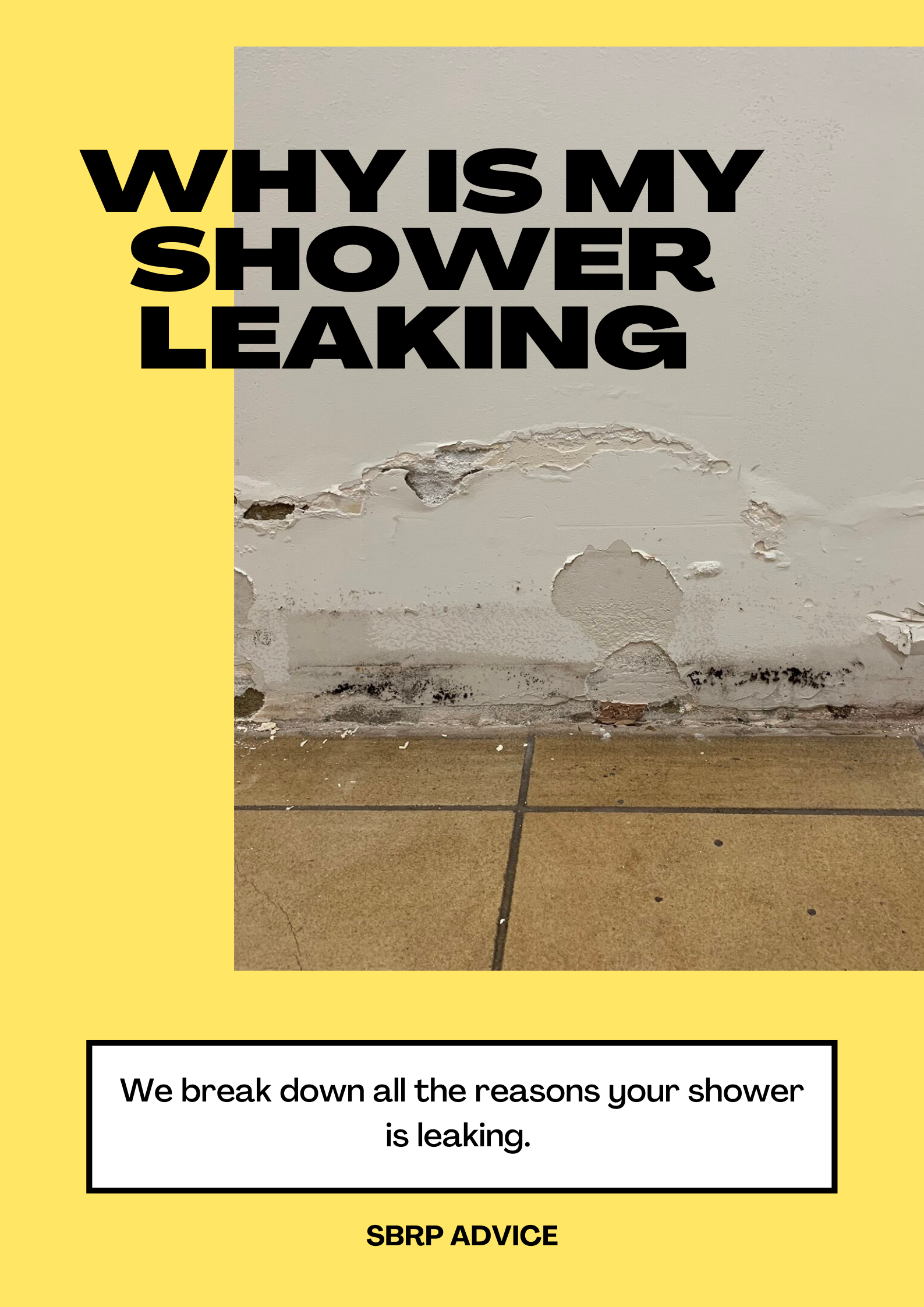 Why Is My Shower Leaking In The Bathroom Walls