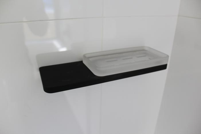 Black Soap Dish