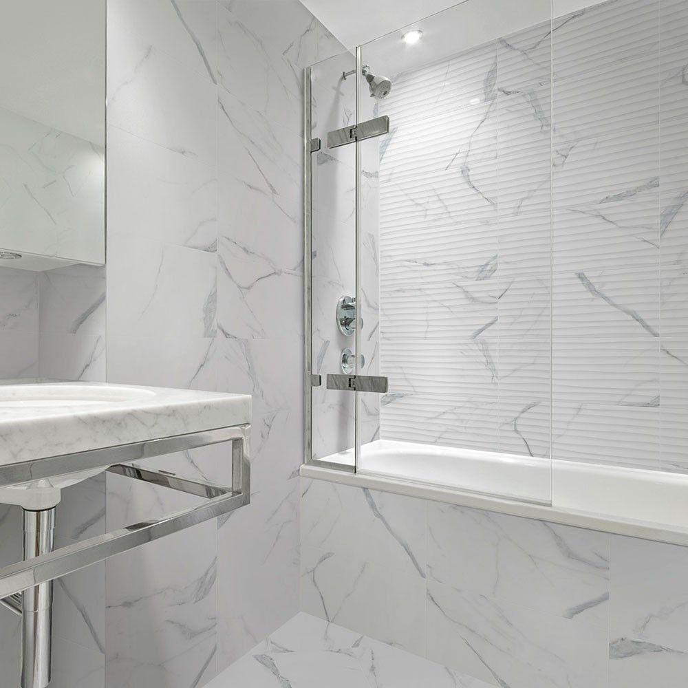 sugarglaze-carrara-marble-effect-wave-decor-tiles-amoureux-carrara-marble-tiles-zoom-image-1