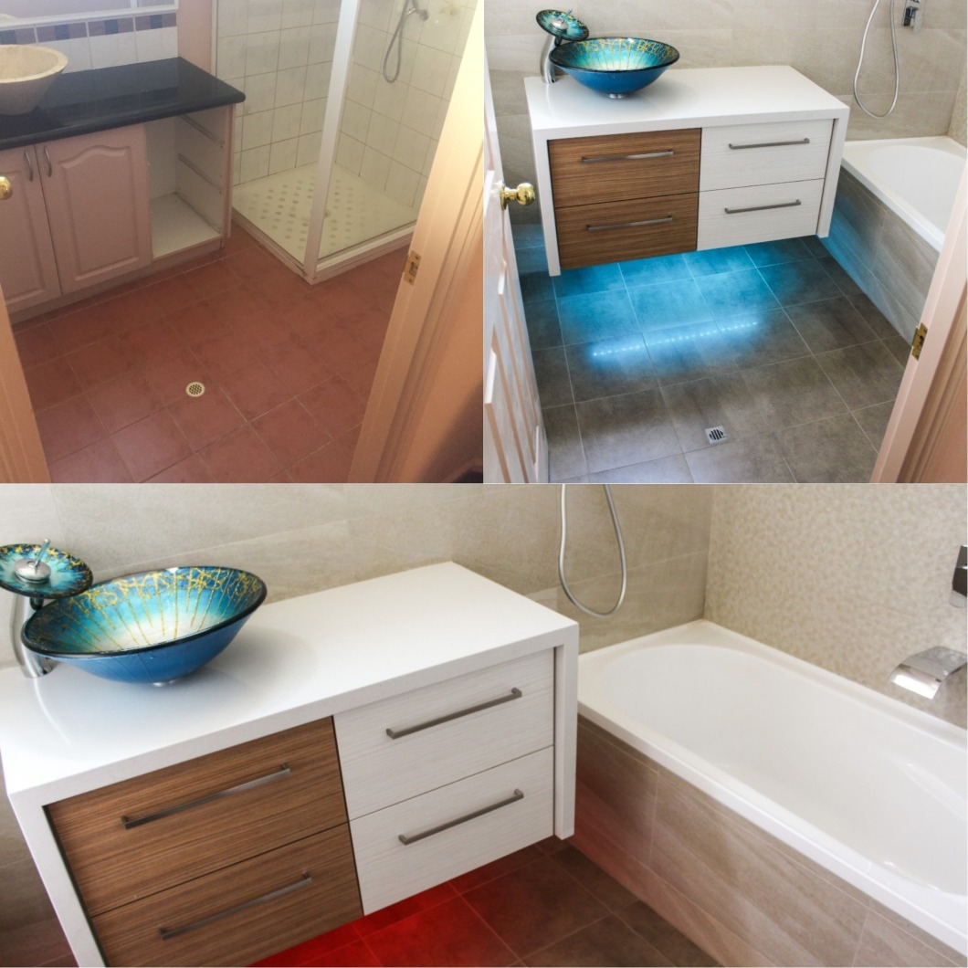 Shower Bath - Bathroom Renovations Perth