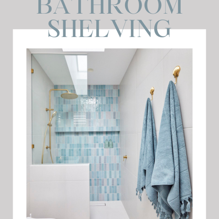 Best Bathroom Shelving For Small Bathrooms