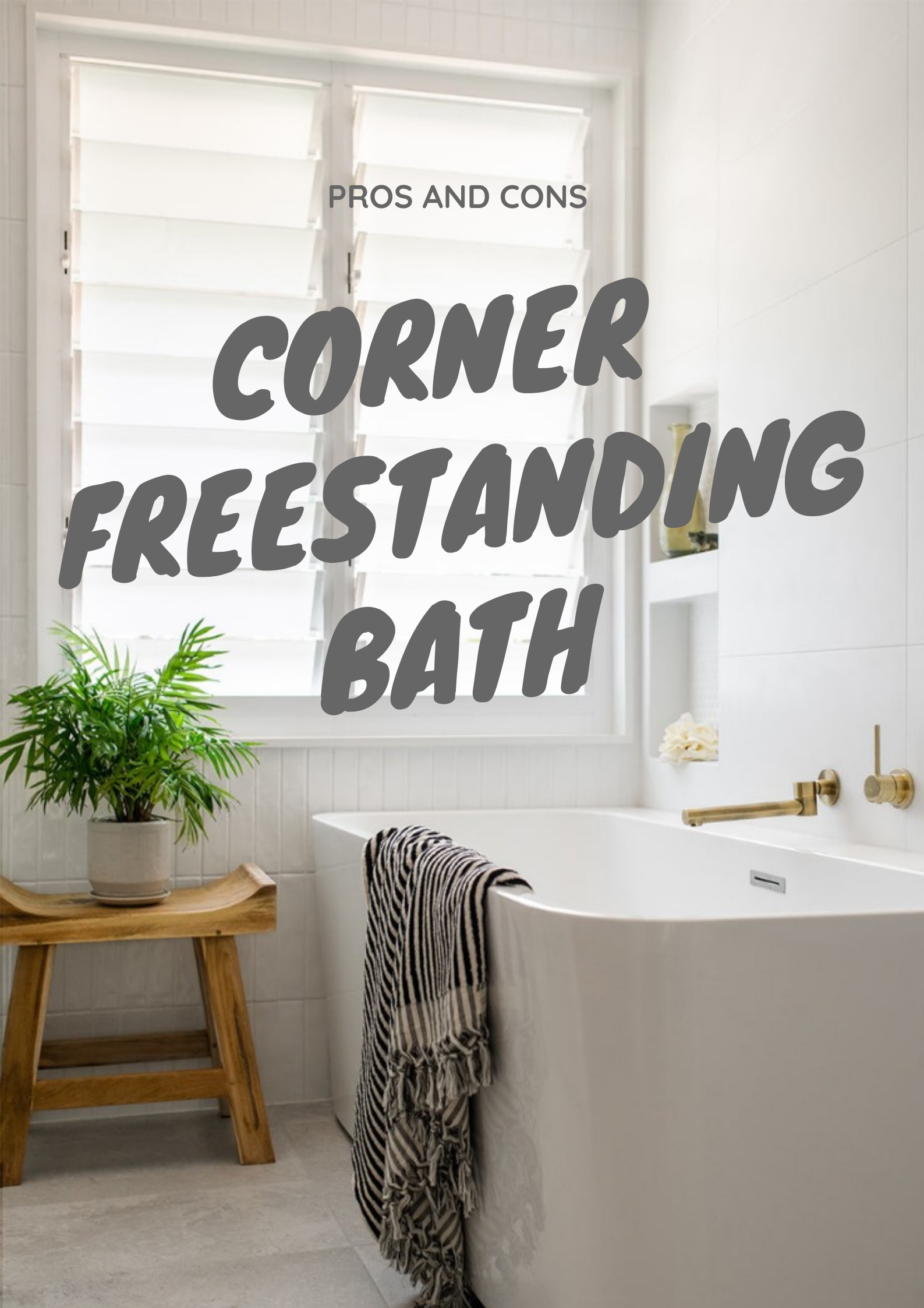 Corner Freestanding Bath