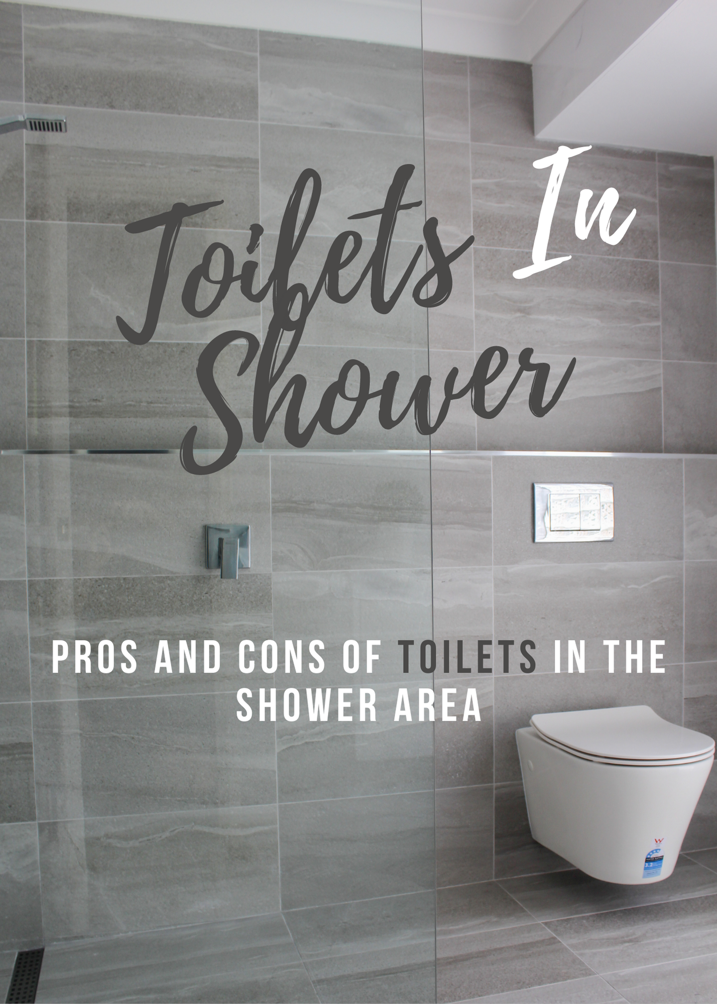 Toilets In Shower Areas