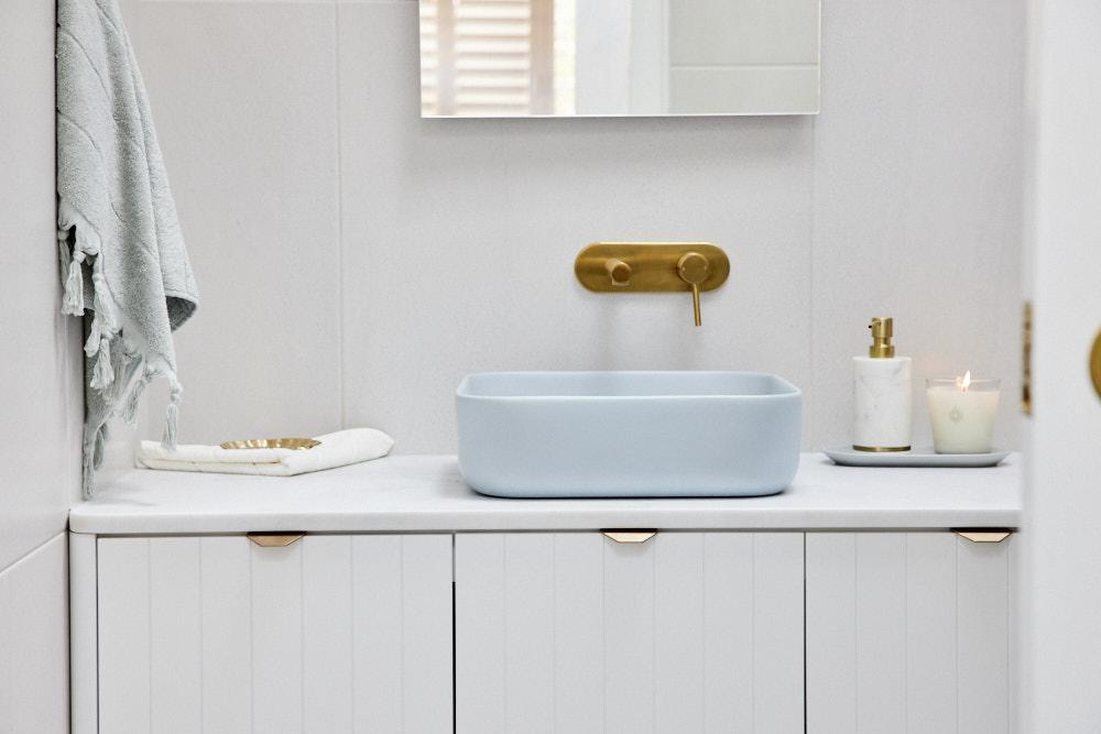Gold Bathroom Tapware