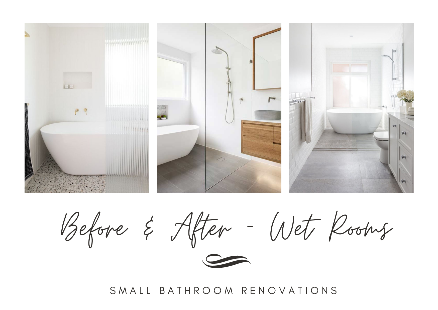 Before and After Wet Rooms