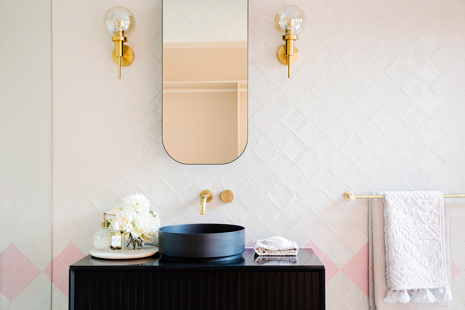 Curved Mirror Cabinets
