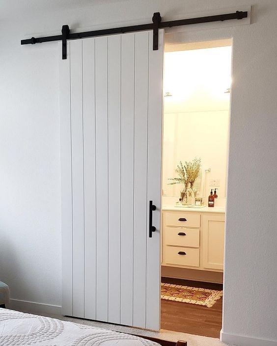 Barn Door Slider For Bathrooms
