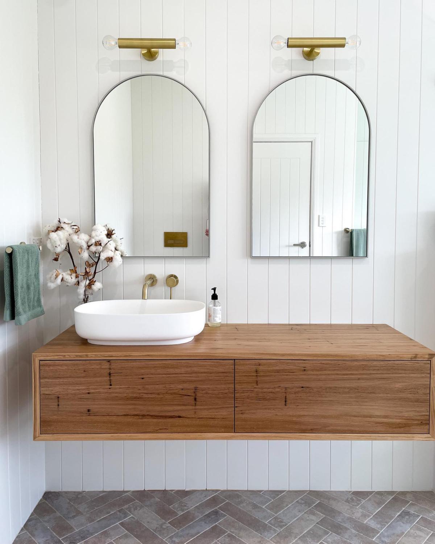 Arch Bathroom Mirrors