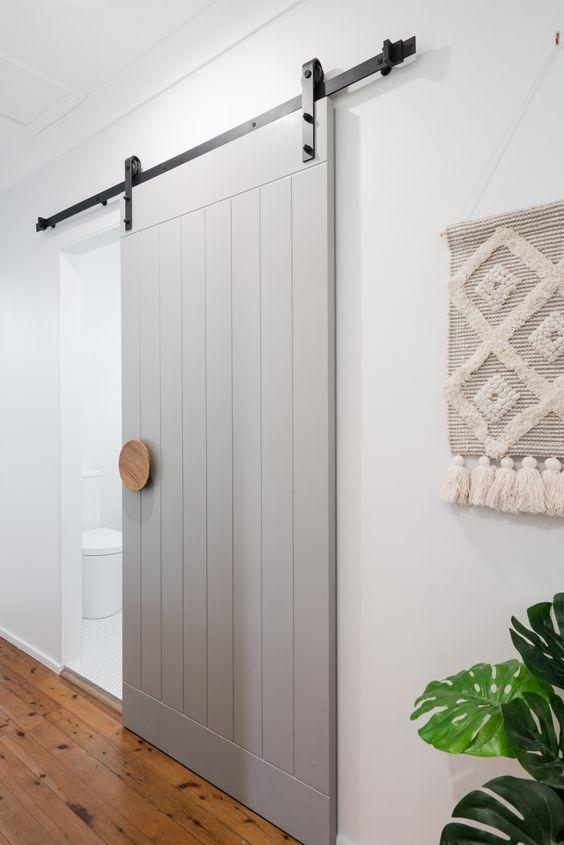 Bathroom Barn Door Slider